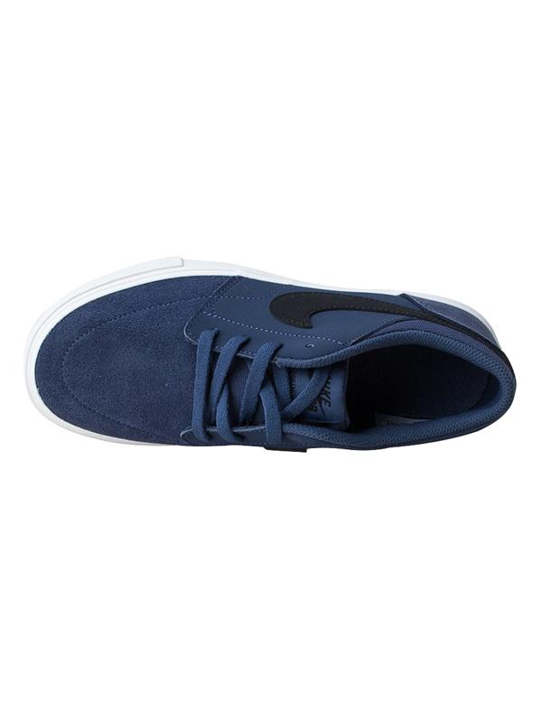 b2a2a995b5e2b Nike SB Portmore II (GS) Blue/Black detské letné topánky / eSatna.sk