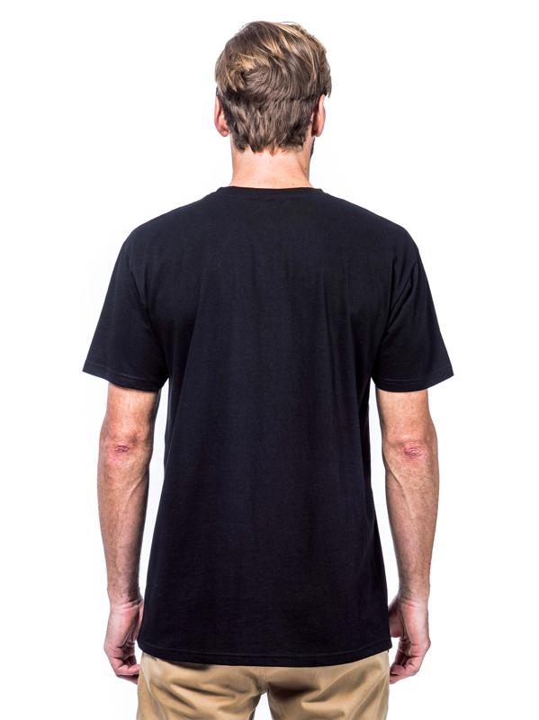 f3e5041e0d9f Horsefeathers MINI LOGO black pánske tričko s krátkym rukávom ...